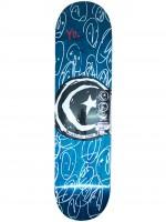 """Tabla Foundation Star & Moon Yo! Blue 8.125"""""""
