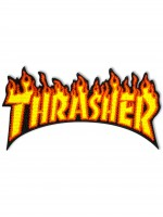 Parche Thrasher Flame Classic