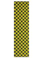 Lija Generica Cuadros Negro Amarillo