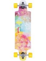 """Longboard Dusters Mandala Yellow 36"""""""