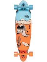 """Longboard Dusters Wagon Blue Orange 33"""""""
