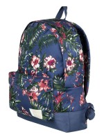 Mochila Roxy Sugar Baby Crown Blue Flower Games