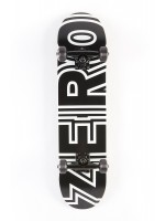 Patineta Completa Zero Bold Youth Black White 7.25""