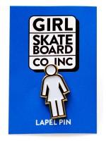Pin Girl Og Enamel