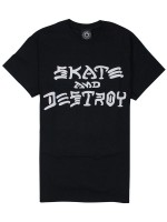 Playera Thrasher Skate And Destroy Black