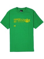 Playera Fourstar Classics-Four Cities Kelly Green Small