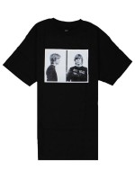 Playera Fourstar Kurt Mugshot Black