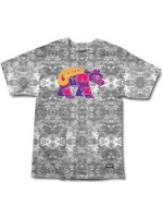 Playera Grizzly Tribes Of Bears Black Tie Dye