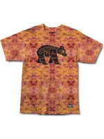 Playera Grizzly Tribes Of Bears Rust Tie Dye
