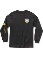 Playera Grizzly X Adventure Time Let's Get Stupid  M/L Black