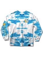 Playera Grizzly X Adventure Time Let's Get Stupid  M/L Tie Dye
