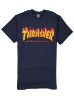 Playera Thrasher Flame Navy