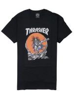 Playera Thrasher Sk8 Outlaw Black