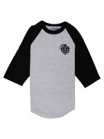 Playera Thunder Stk Grenade 3/4 Athletic Black