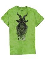 Playera Zero Deliverance Goat Tie Dye Green