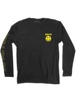 Playera Zero Smiley M/L Black Yellow