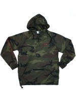 Rompevientos Chocolate Outlier Packable Anorak Camo