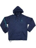 Rompevientos Chocolate Outlier Packable Anorak Navy