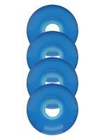 Ruedas Lisas Azul Trans 53mm