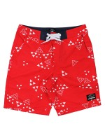 Short Fourstar Signature Trunk Mariano Washed Red