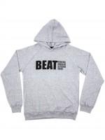 Sudadera Beat Logo Grande Gris