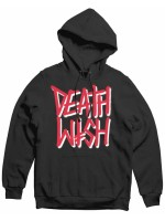 Sudadera Deathwish Deathstack Black Red