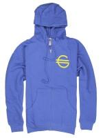 Sudadera Girl Euro Zip Royal