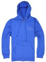 Sudadera Girl Modern Og Zip Blu