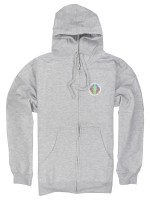 Sudadera Girl Scout Zip Htr Gry