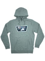 Sudadera Vans Full Patch Fill Cement Heather Peace Out Floral