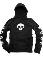 Sudadera Zero Multiple Skull Black