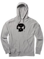 Sudadera Zero Single Skull Ash Grey