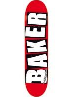 """Tabla Baker Brand Logo White Red 8.0"""""""