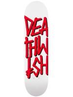 """Tabla Deathwish Deathstack White Red 7.75"""""""