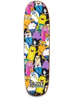 Tabla Grizzly X Adventure Time Like Your Brain & Stuff Cruiser 8.375'' X 32''