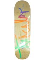 """Tabla Tricolor Firma Multicolor Natural 8.25"""""""