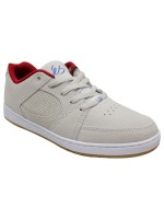 Tenis Es Accel Slim White Red