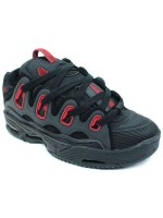 Tenis Osiris D3 2001 Black Black Red