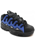 Tenis Osiris D3 2001 Black White Royal