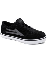 Tenis Skate Lakai Kids Manchester Black Grey Suede