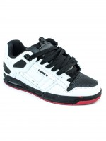 Tenis Osiris Peril White Black Red