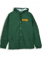 Rompevientos Thrasher Flame Logo Green Forest
