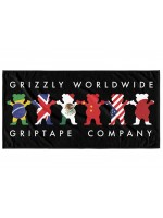 Toalla Grizzly Worldwide Tribe Black
