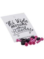 """Tornillos Codice Cruz Rosa 1.25"""""""