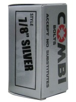"""Tornillos Independent Combi Bolts Silver 7/8"""""""