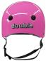 Casco Double Pink