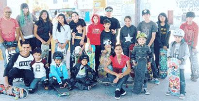 Chica Rider Clases de Skateboarding
