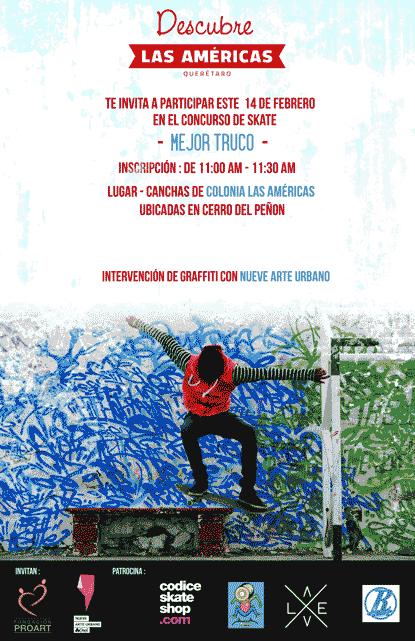 Concurso Skate Las Américas Querétaro
