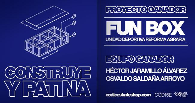 Ganadores concurso Patina y Construye queretaro mexico