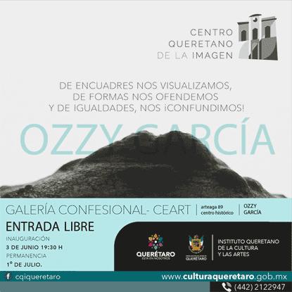 Visita la exposición de Ozzy García en la Galería Confesional del CEART a partir del 3 de junio